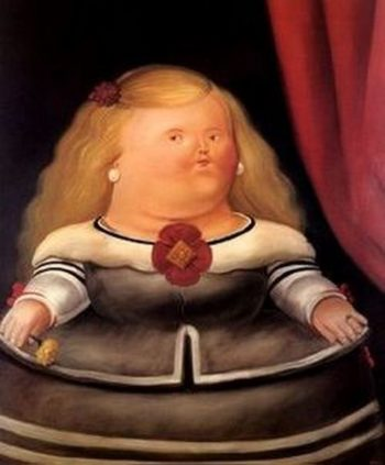 After Velasquez | Fernando Botero | oil painting