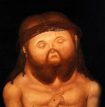Head of Christ | Fernando Botero | oil painting