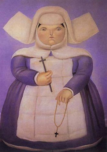 Madre Superiora | Fernando Botero | oil painting