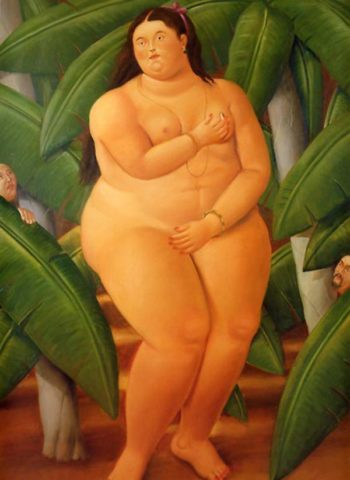 Nude | Fernando Botero | oil painting