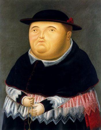 Obispo | Fernando Botero | oil painting