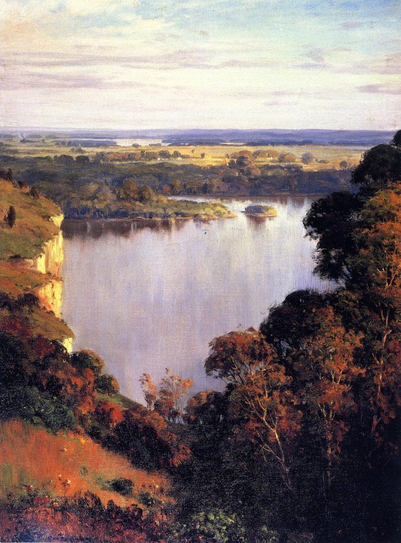The Rivers Golden Dream | Frederick Oaks Sylvester | oil painting