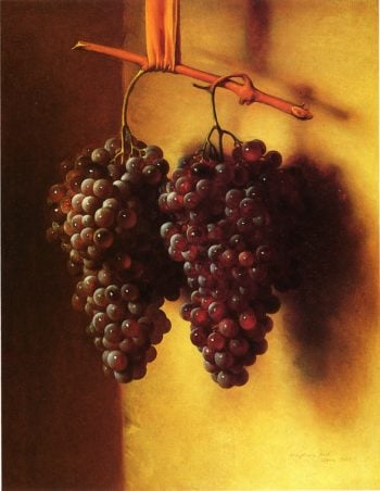The Twins Chianti Grapes | George Henry Hall | oil painting
