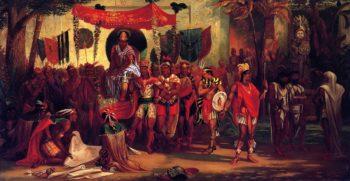 The Last of the Aztecs | George M Ottinger | oil painting