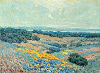 California Landscape | Granville Redmond | oil painting