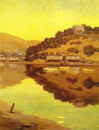 Corinthian Island | Granville Redmond | oil painting