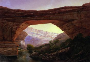 Augusta Natural Bridge | Henry Culmer | oil painting