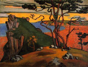 Black Sea Coast | Roger Fry | oil painting