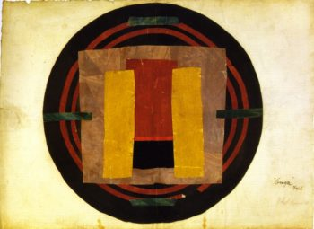 Design for a Rug for Arthur Rock | Roger Fry | oil painting