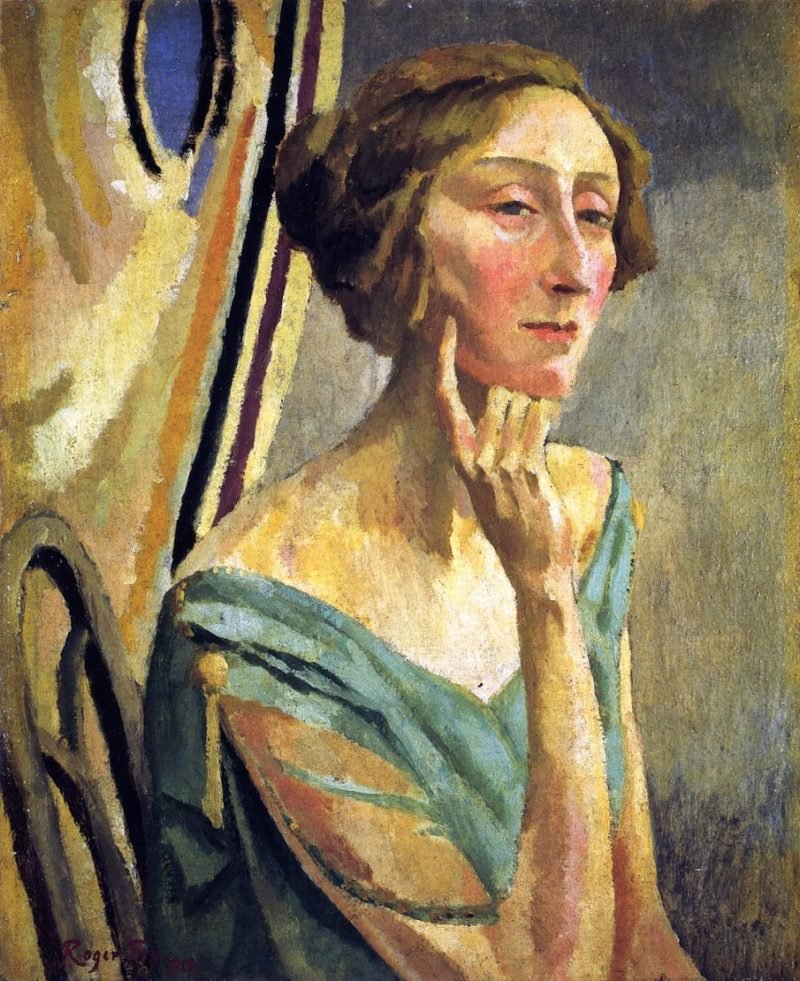 Edith Sitwell | Roger Fry | oil painting