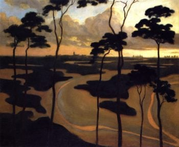 San Blythburg the Estuary | Roger Fry | oil painting