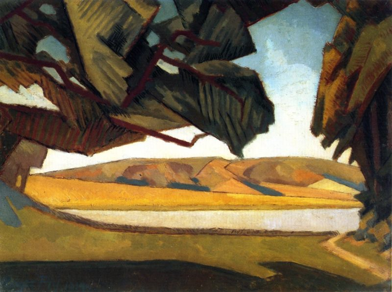 South Downs | Roger Fry | oil painting