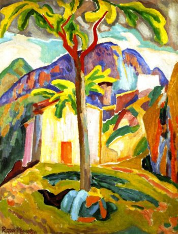 Ste Agnes South of France | Roger Fry | oil painting