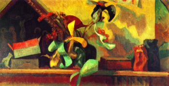 Still LIfe with Italian Painting | Roger Fry | oil painting