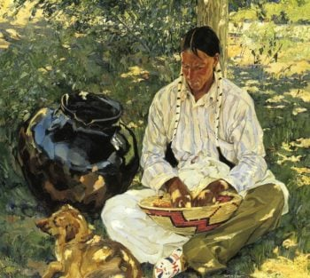 Sunspots | Walter Ufer | oil painting