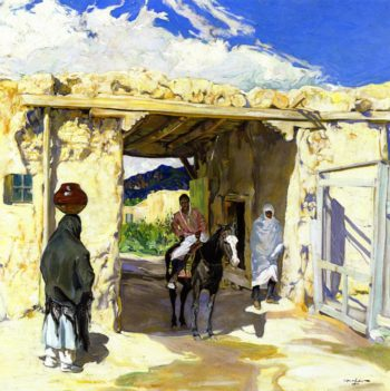 The Gateway | Walter Ufer | oil painting