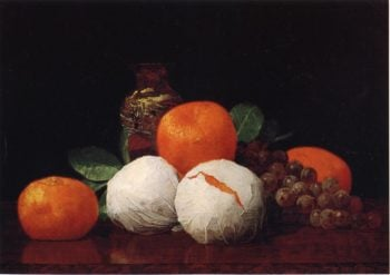 Still Life with Wrapped Tangerines | William Joseph McCloskey | oil painting