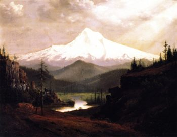 Mount Hood | William S Parrott | oil painting
