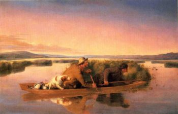 Duck Hunters on the Hoboken Marshes | William Tylee Ranney | oil painting