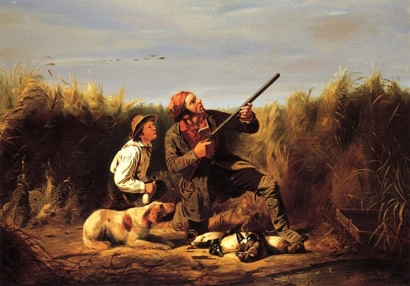 On the Wing | William Tylee Ranney | oil painting