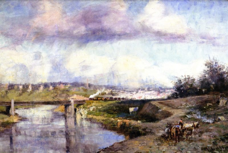 The Yarra | Frederick McCubbin | oil painting