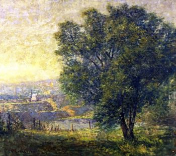 The Lime Tree | Frederick McCubbin | oil painting