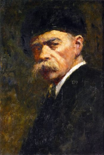 Self Portrait | Frederick McCubbin | oil painting