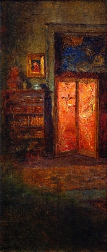 The Red Screne | Frederick McCubbin | oil painting