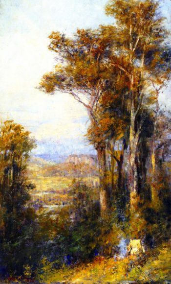Landscape Macedon | Frederick McCubbin | oil painting