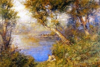 Golden Sunlight | Frederick McCubbin | oil painting