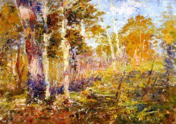Madedon Landscape | Frederick McCubbin | oil painting