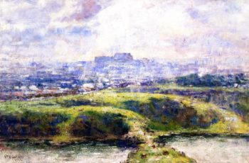 Looking Towards Richmond Hill | Frederick McCubbin | oil painting