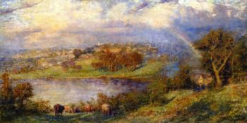 Flood Waters | Frederick McCubbin | oil painting