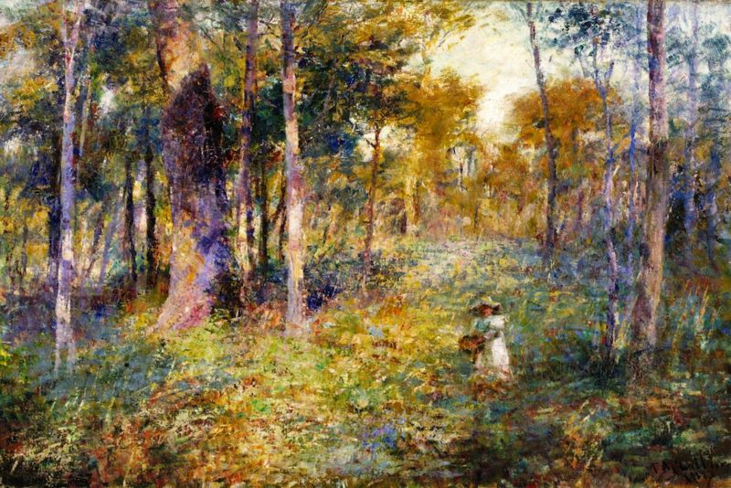Child in the Bush | Frederick McCubbin | oil painting