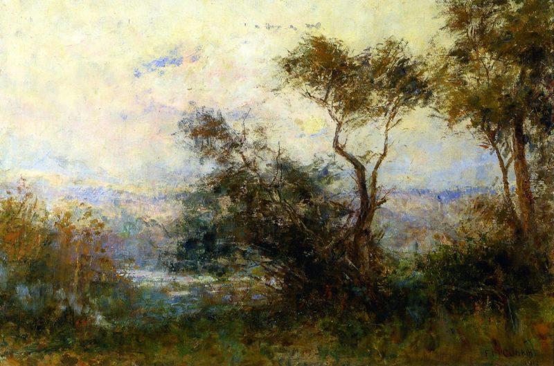 Twilight   Frederick McCubbin   oil painting