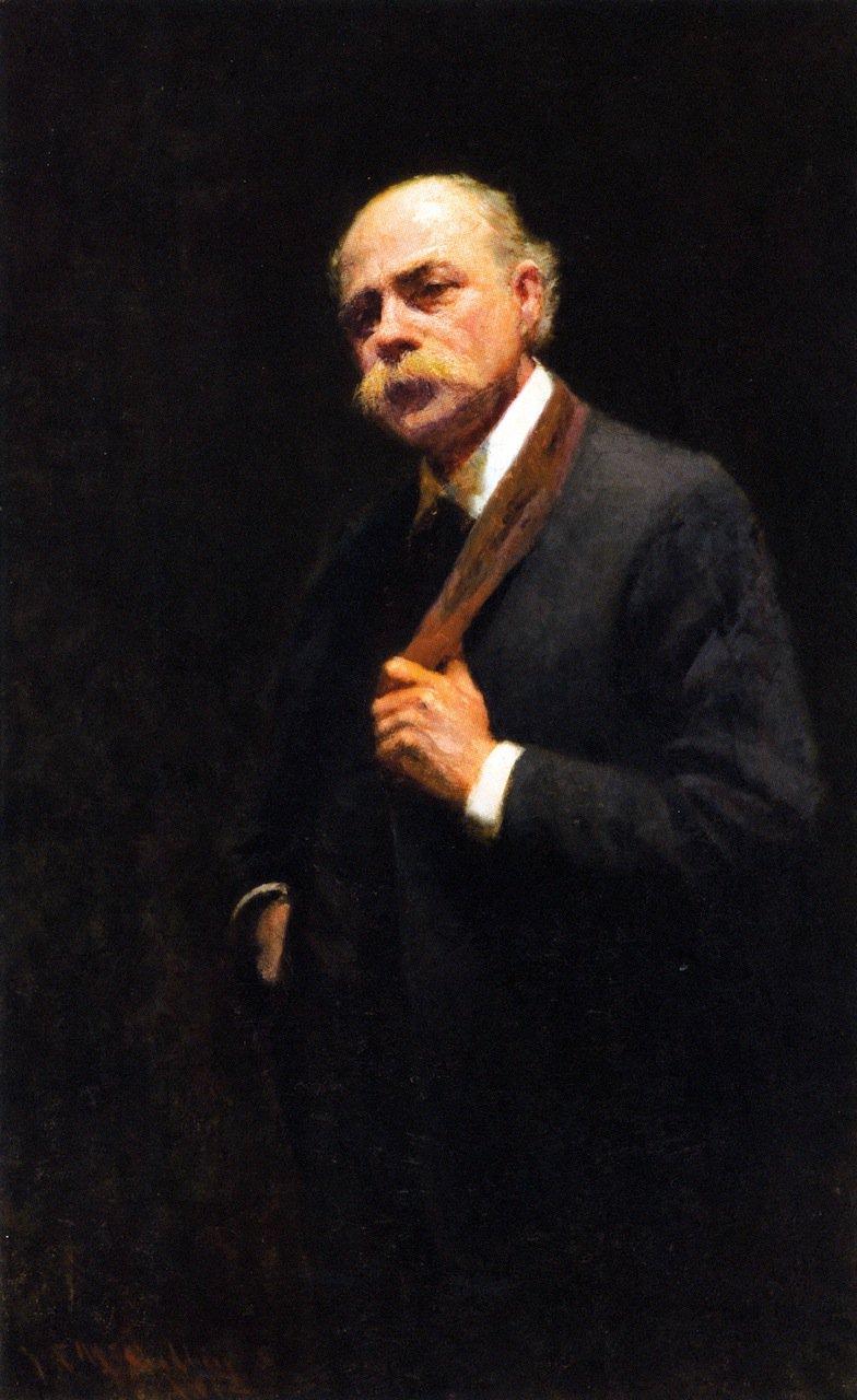 Self Portrait | Frederick McCubbin | oil painting