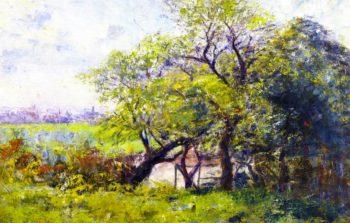 Landscape Spring | Frederick McCubbin | oil painting