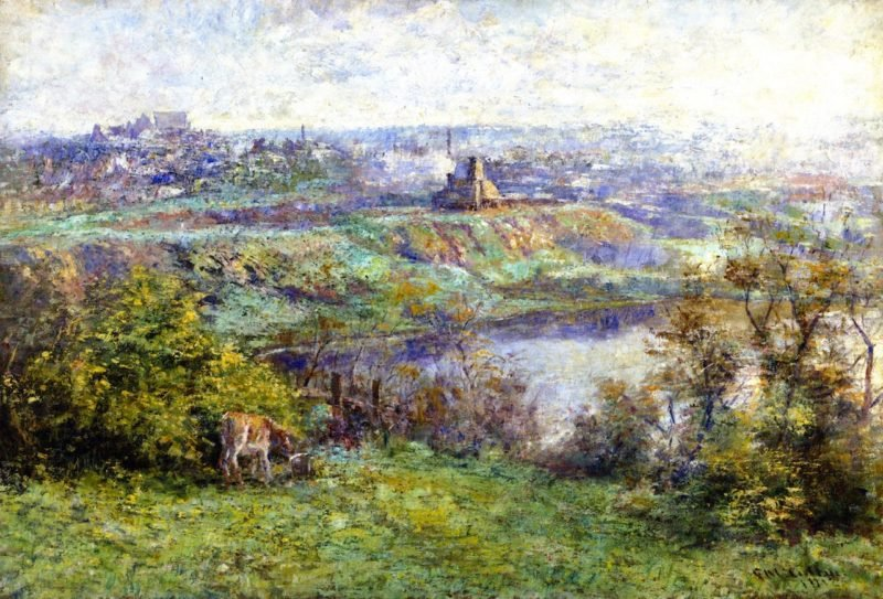 Coming of Spring | Frederick McCubbin | oil painting