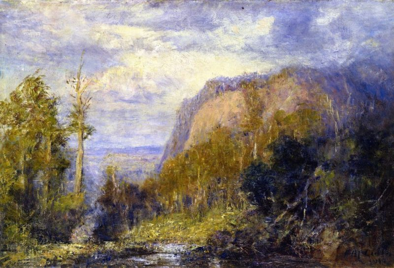 Camels Hump | Frederick McCubbin | oil painting