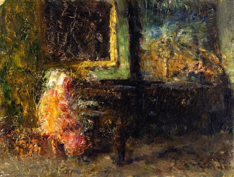 Sketch for An Interior | Frederick McCubbin | oil painting