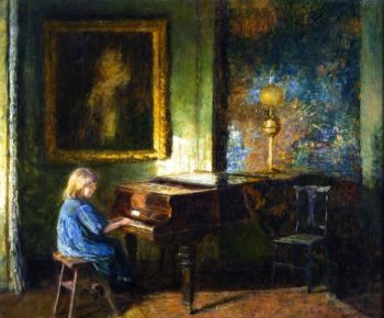 An Interior | Frederick McCubbin | oil painting