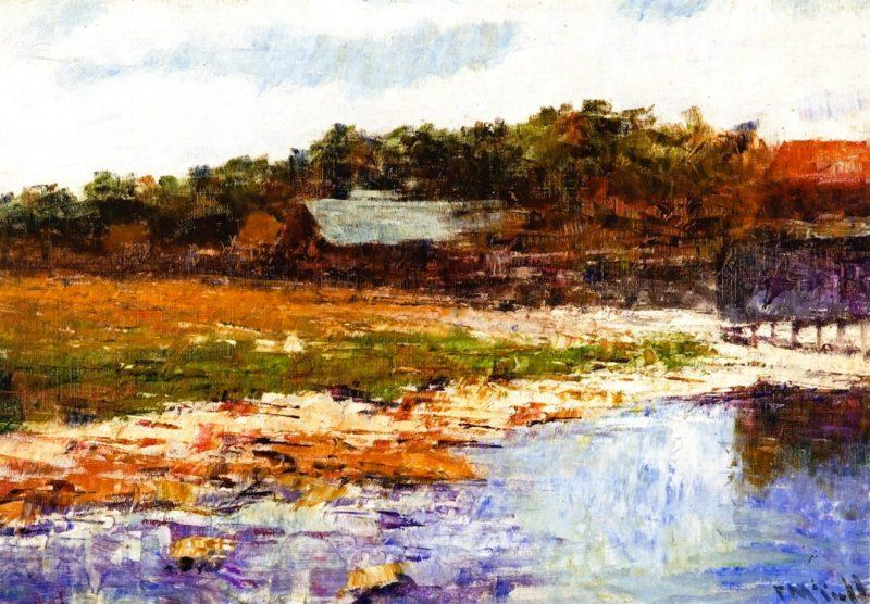 Williamstown Landscape | Frederick McCubbin | oil painting