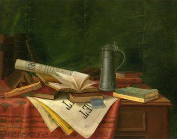 Tabletop Still Life   Nicholas Alden Brooks   oil painting