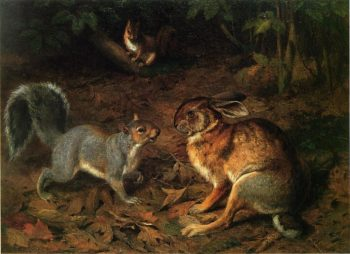 The Gossips | william holbrook beard | oil painting