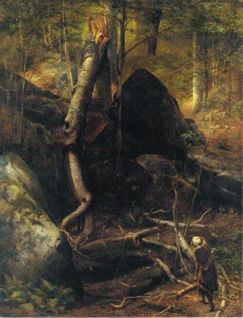 The Fallen Landmark | william holbrook beard | oil painting