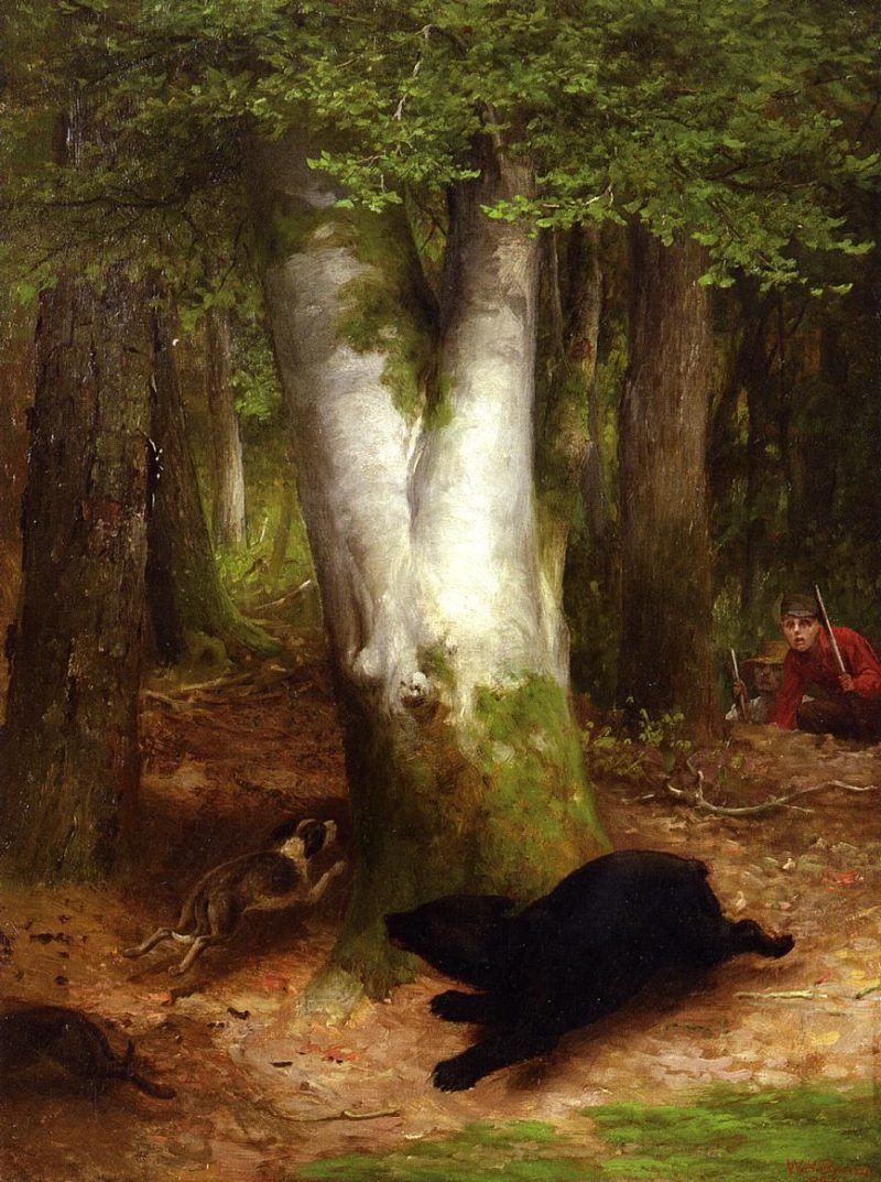 Round and Round they Went   william holbrook beard   oil painting