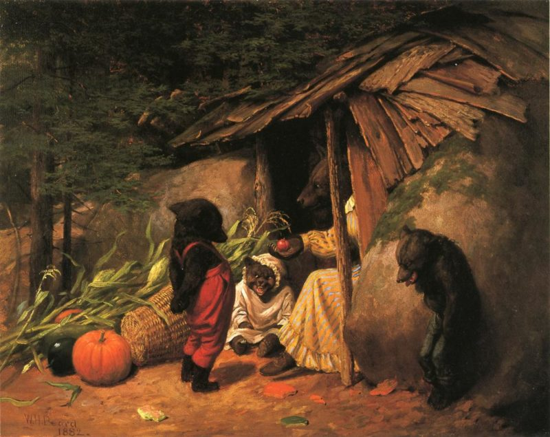 Little Accident | william holbrook beard | oil painting