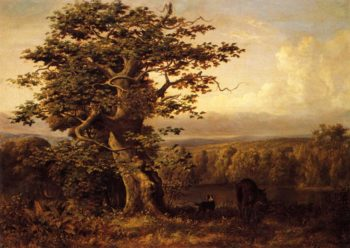 A View in Virginia | william holbrook beard | oil painting