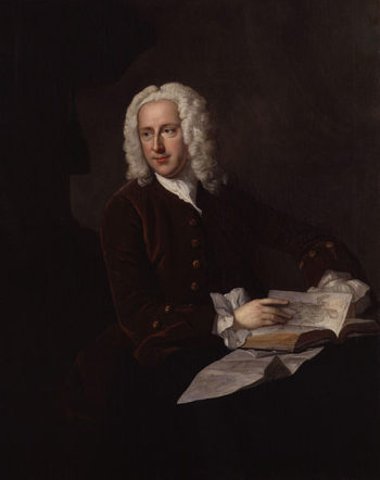 Portrait of Dr Frank NICHOLLS by Thomas Hudson | Thomas Hudson | oil painting