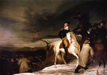 The Passage of the Delaware   Thomas Sully   oil painting